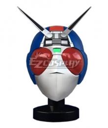 Kamen Rider Black RX Bio Rider Helmet Mask Cosplay Accessory Prop