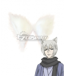 Kamisama Hajimemashita Kamisama Kiss Kamisama Love Tomoe White Ears Cosplay Accessory Prop