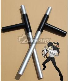 Katekyo Hitman Reborn! Kyoya Hibari Cosplay Weapon Prop
