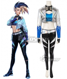 League Of Legends LOL 2020 K/DA KDA All Out Akali Halloween Cosplay Costume