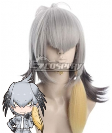 Kemono Friends Shoebill Silver Cosplay Wig