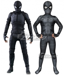 Kids Marvel Spider-Man: Far From Home Spiderman Peter Parker Night Monkey Zentai Jumpsuit Cosplay Costume