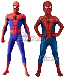 Kids Marvel PS4 Spider-Man Spiderman Zentai Jumpsuit Cosplay Costume