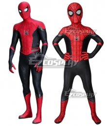 Kids Marvel 2019 Spider-Man: Far From Home  SpiderMan Peter Parker Zentai Jumpsuit Cosplay Costume