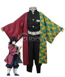 Kids Size Demon Slayer: Kimetsu no Yaiba Giyuu Tomioka Cosplay Costume