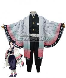 Kids Size Demon Slayer: Kimetsu No Yaiba Kochou Shinobu Cosplay Costume