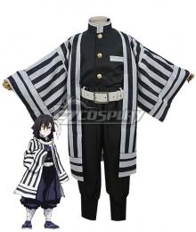Kids Size Demon Slayer: Kimetsu no Yaiba Obanai Iguro Cosplay Costume