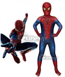Kids The Amazing Spider Man Spiderman Peter Parker Zentai Jumpsuit Cosplay Costume