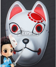 Demon Slayer: Kimetsu No Yaiba Kamado Tanjirou Mask Cosplay Accessory Prop