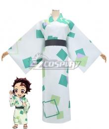 Kimetsu No Yaiba Kamado Tanjirou Summer 2020 Cosplay Costume