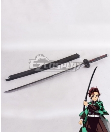Demon Slayer: Kimetsu No Yaiba Kamado Tanjirou Sword Cosplay Weapon Prop