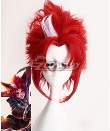 King Glory Honor of Kings Baili Xuance Red Cosplay Wig
