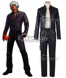 King of Fighters 99 K DASH Black Uniform Cosplay Costume