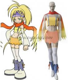 Kingdom Hearts 2 Fairy Rikku Cosplay Costume