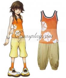 Kingdom Hearts 2 Olette Cosplay Costume