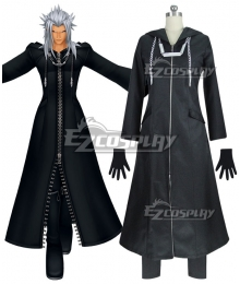 Kingdom Hearts 2 Organization XIII Roxas Black Cosplay Costume - Polyester Edition