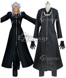 Kingdom Hearts 2 Organization XIII Roxas Black Cosplay Costume - Polyester Edition