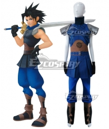 Kingdom Hearts Birth By Sleep Zack Fair Cosplay Costume