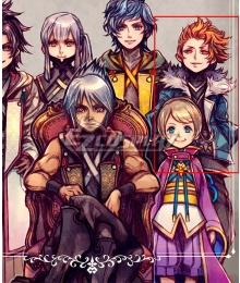 Kingdom Hearts Dark Road Bragi Cosplay Costume