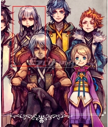 Kingdom Hearts Dark Road Urd Cosplay Costume