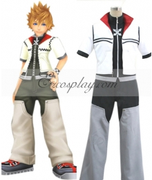 Kingdom Hearts II Roxas Cosplay Costume