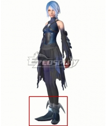 Kingdom Hearts III Aqua Black Cosplay Shoes