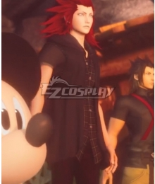 Kingdom Hearts III Kingdom Hearts 3 Organization XIII Number VIII Lea Axel Cosplay Costume