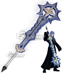 Kingdom Hearts III Kingdom Hearts 3 Organization XIII Saix Keyblade Cosplay Weapon Prop
