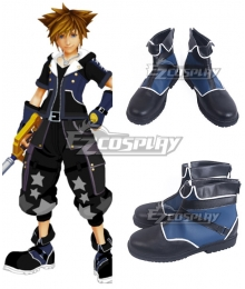 Kingdom Hearts III Sora Drive Form Black Cosplay Shoes
