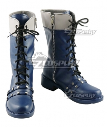 Kingdom Hearts III Xion Blue Cosplay Boots