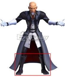 Kingdom Hearts Master Xehanort Black Shoes Cosplay Boots