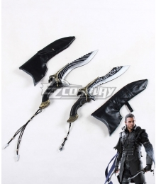 Kingsglaive: Final Fantasy XV FF15 Nyx Ulric Dagger Cosplay Weapon Prop