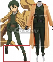 Kino's Journey Kino Black Cosplay Shoes