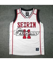 Kuroko's Basketball Tetsuya Kuroko Seirin 2 No.11 Jersey