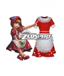 League of Legends Annie Red Riding Skin Cosplay Costume