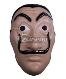 La Casa de Papel Dali Halloween Mask Cosplay Accessory Prop
