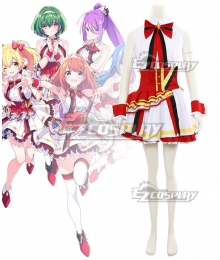 Lapis Re:Lights Lights Tiara Rosetta Lavie Ashley Lynette Cosplay Costume