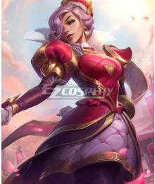 League of Legend Fiora Heartpiercer Cosplay Costume