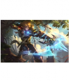 League of Legend LOL Albion Ezreal Cosplay Costume