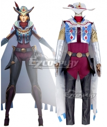 League of Legend LOL Ashe High Noon Cosplay Costume