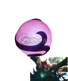League of Legend LOL Elderwood Ahri Cosplay Weapon Prop