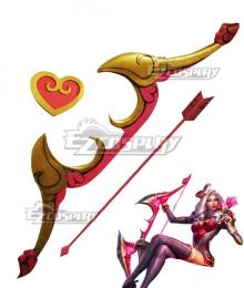 League of Legend LOL Heartseeker Ashe Bow and Arrow Cosplay Weapon Prop