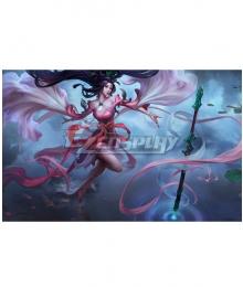 League of Legend LOL Sacred Sword Janna Cosplay Costume