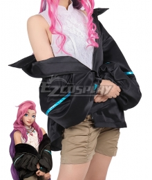 League of Legend LOL Seraphine KDA K/DA Daily Cosplay Costume