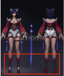 League of Legends 2014 Ahri Cosplay Black Boots