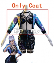 League Of Legends LOL 2020 K/DA KDA All Out Evelynn Halloween Cosplay Costume - Only Coat