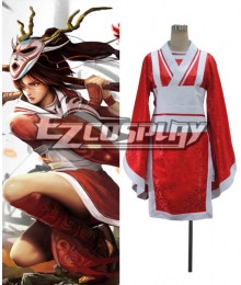 League of Legends The Fist of Shadow Akali Cosplay Costume
