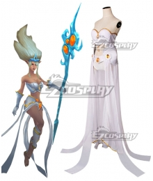 League of Legends Janna Cosplay Costume Full set