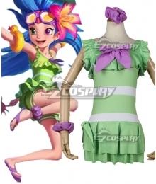 League Of Legends LOL 2018 Zoe Pool Party Skins Cosplay Costume