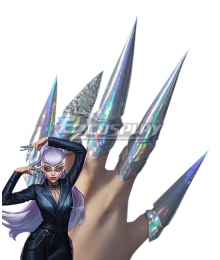 League Of Legends LOL 2020 KDA K/DA Evelynn Earring Accessory Prop